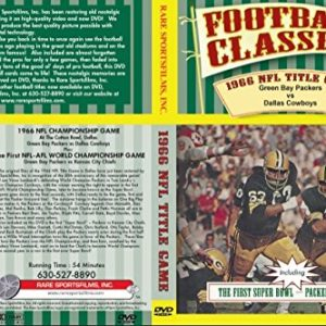 1966 NFL CHAMPIONSHIP GAME Green Bay