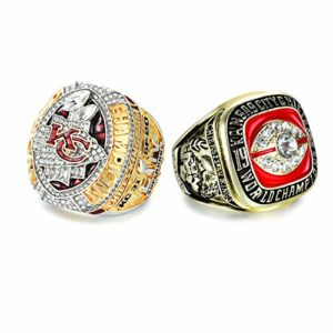 1969 and 2020 Chiefs Rings with