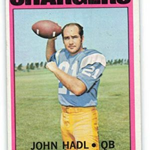 1972 Topps #15 John Hadl EX