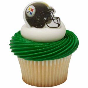 24 Pittsburgh Steelers Football Cupcake Rings