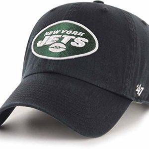47 New York Jets Black Clean Up