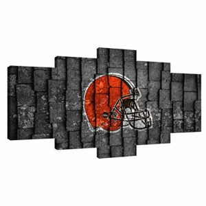 5PCS Cleveland Browns American Football Poster