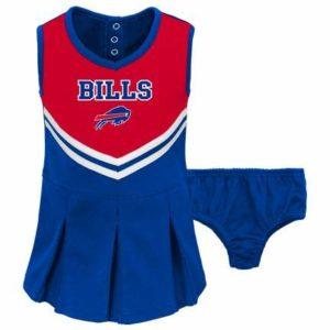A-Team Apparel Buffalo Bills Infant/Toddler Girls