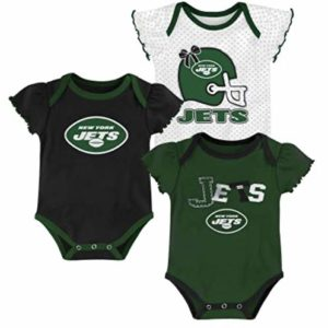 A-Team Apparel New York Jets Girls 3