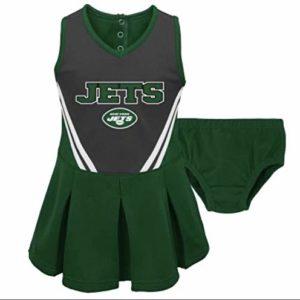 A-Team Apparel New York Jets Toddler Girls
