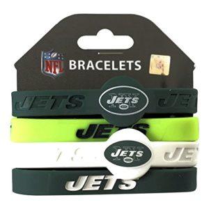 Aminco NFL New York Jets Silicone Bracelets