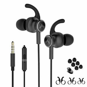 Avantree ME12 Sports Earbuds Wired with Microphone