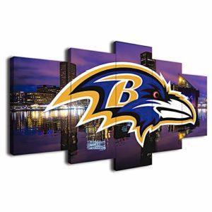 Baltimore Ravens American Football Poster Canvas