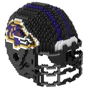 Baltimore Ravens NFL 3D BRXLZ Construction