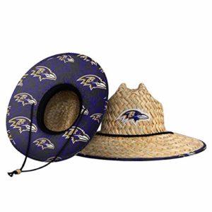 Baltimore Ravens NFL Floral Straw Hat