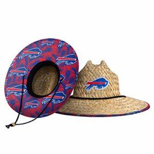 Buffalo Bills NFL Floral Straw Hat