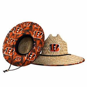 Cincinnati Bengals NFL Floral Straw Hat