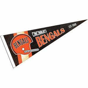 Cincinnati Bengals Throwback Vintage Retro Pennant