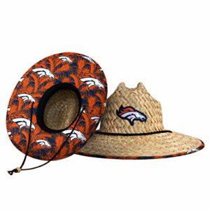 Denver Broncos NFL Floral Straw Hat