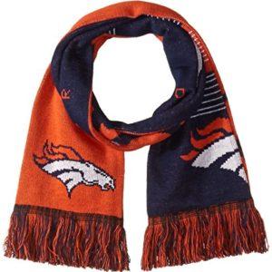 Denver Broncos Reversible Split Logo Scarf