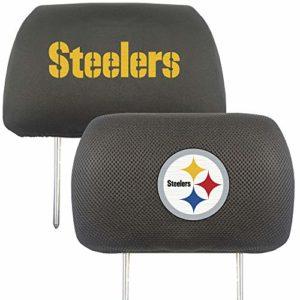 FANMATS NFL Pittsburgh Steelers Auto Headrest