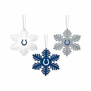 FOCO NFL Christmas Ornament Set - 3