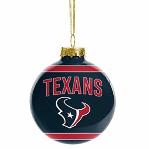 FOCO NFL Glass Ball Ornament - Limited