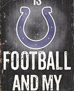 Fan Creations N0640 Indianapolis Colts Football and