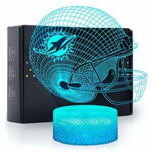 Ikavis 3D LED Night Light Football