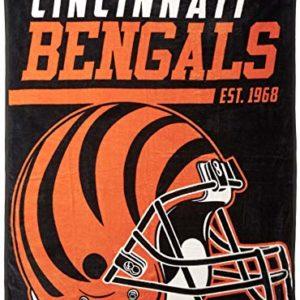 NFL Cincinnati Bengals 40-Yard Dash Micro Raschel
