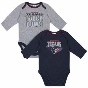 NFL Houston Texans Boys 2 Pack Long