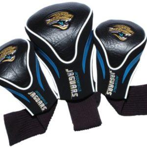 NFL Jacksonville Jaguars 3pk Contour Fit Headcover