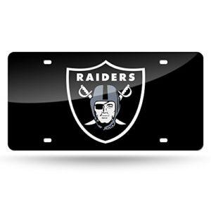 NFL Oakland Raiders Laser Inlaid Metal