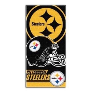 NFL Pittsburgh Steelers Double Covered Beach Towel