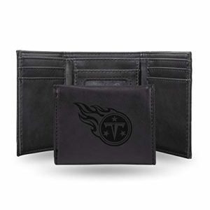 NFL Rico Industries Laser Engraved Trifold Wallet