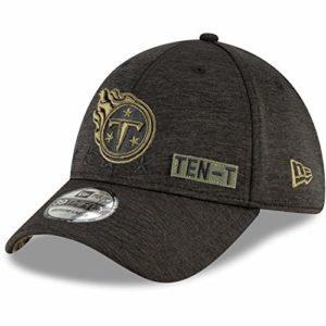 New Era Men's Heather Black Tennessee Titans