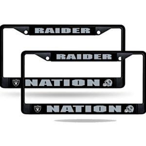 Oakland Raiders Nation NFL Black Metal