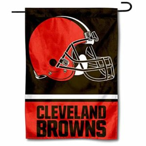 WinCraft Cleveland Browns Double Sided Garden
