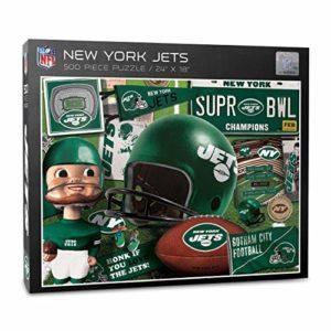 YouTheFan NFL New York Jets Retro Series
