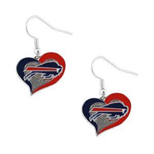 aminco NFL Buffalo Bills Swirl Heart
