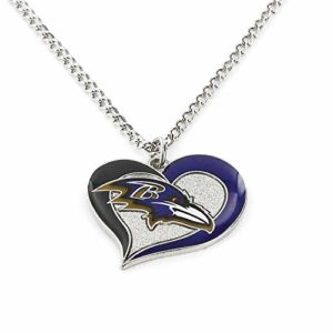 aminco womens NFL Baltimore Ravens Swirl